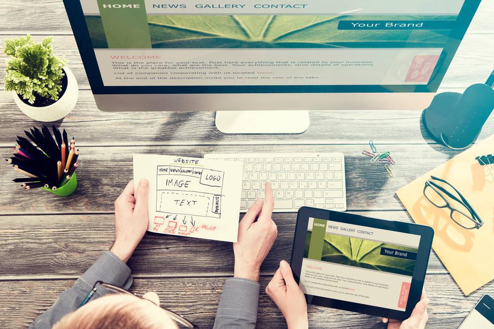 El diseño web es básico para muchos negocios